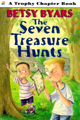 The Seven Treasure Hunts By Byars, Betsy Cromer/ Barrett, Jennifer/ Barrett, Jennifer (ILT)